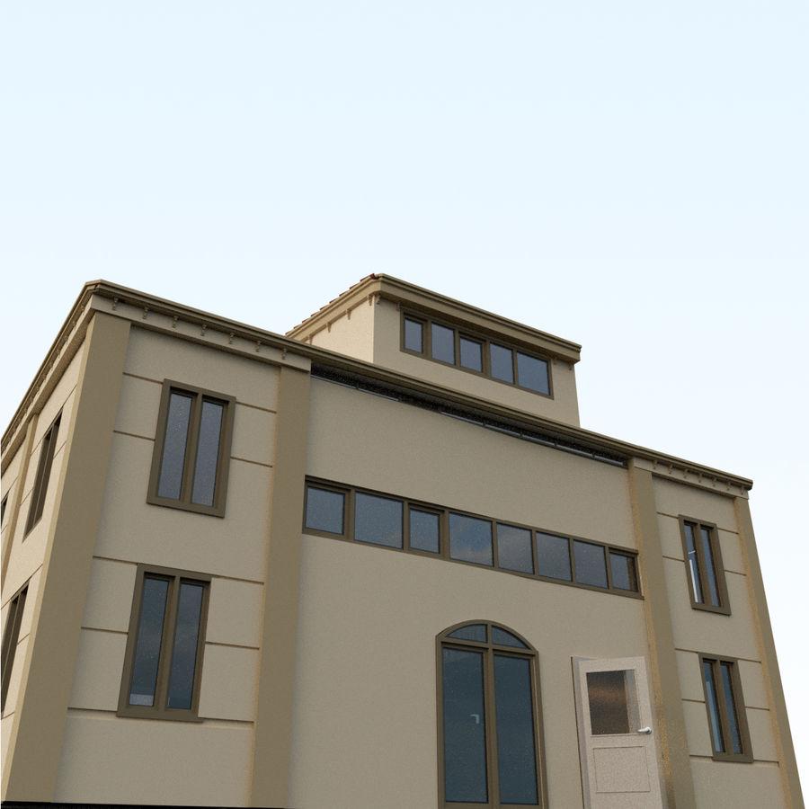 Villa_House_Intérieur et Extérieur royalty-free 3d model - Preview no. 2