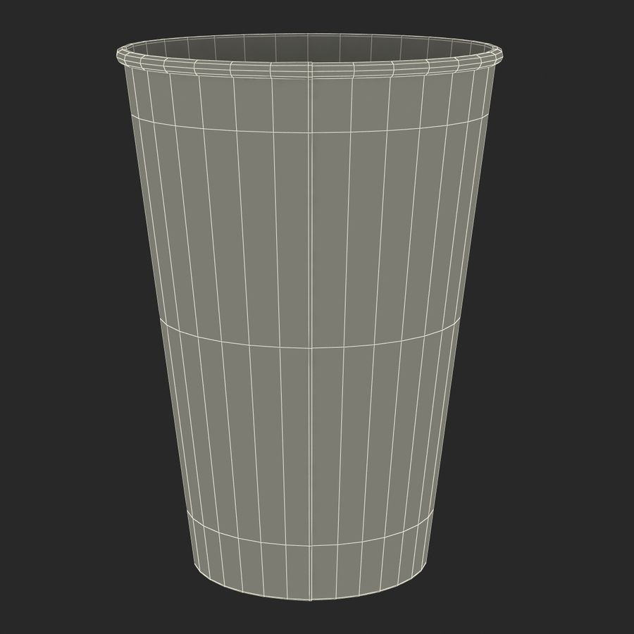 Drink Cup 2 royalty-free 3d model - Preview no. 23