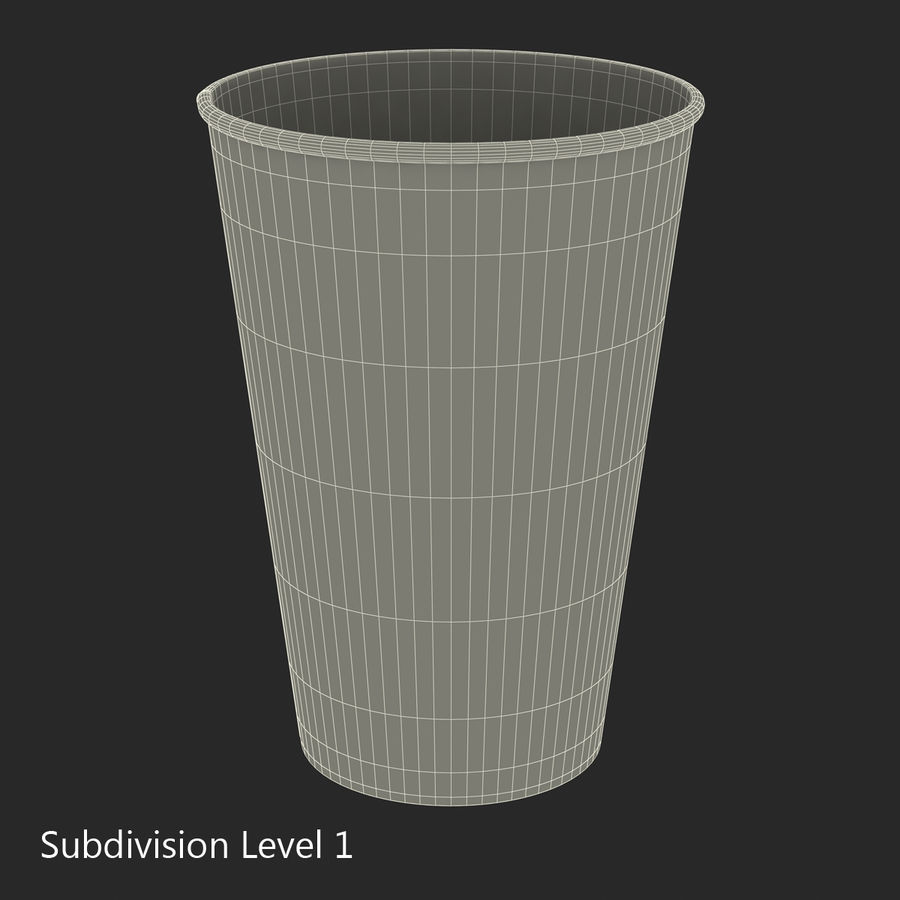 Drink Cup 2 royalty-free 3d model - Preview no. 16