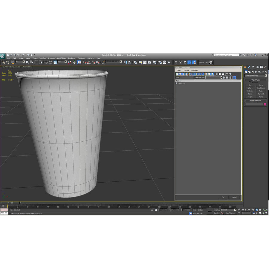 Drink Cup 2 royalty-free 3d model - Preview no. 19