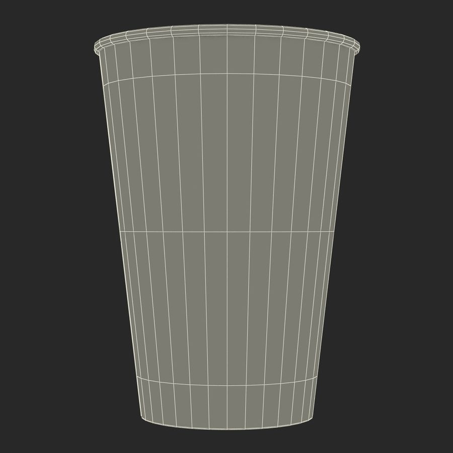 Drink Cup 2 royalty-free 3d model - Preview no. 20