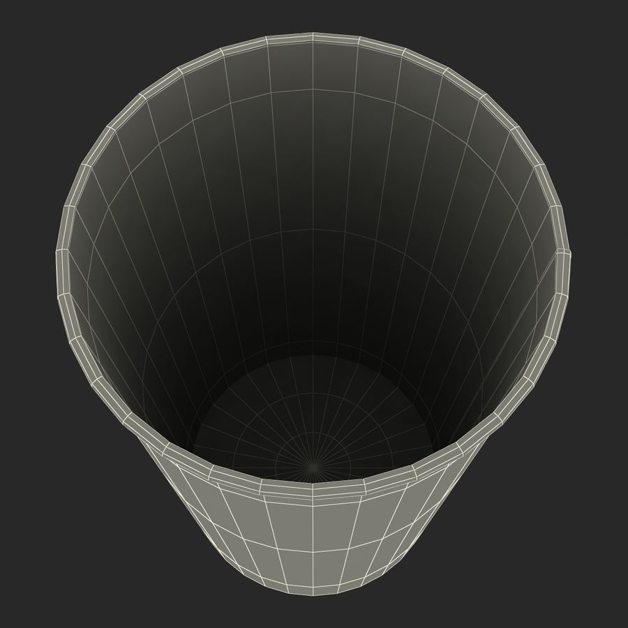 Drink Cup 2 royalty-free 3d model - Preview no. 22
