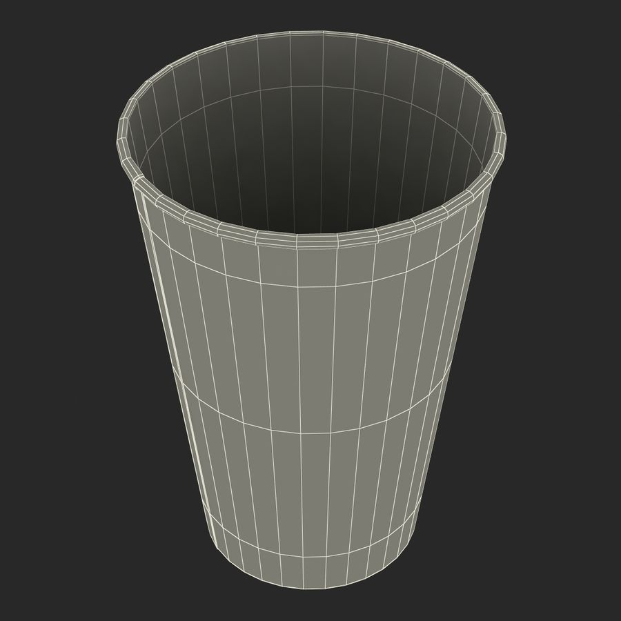 Drink Cup 2 royalty-free 3d model - Preview no. 21