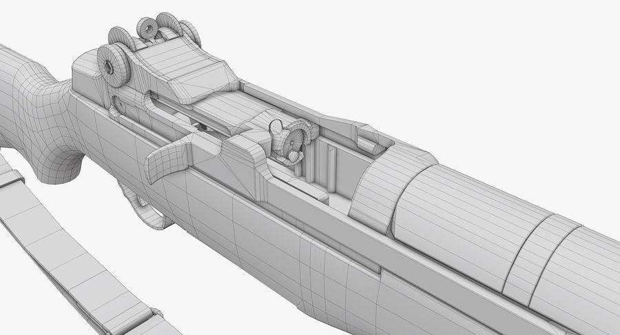 M1ガーランドローポリ royalty-free 3d model - Preview no. 30