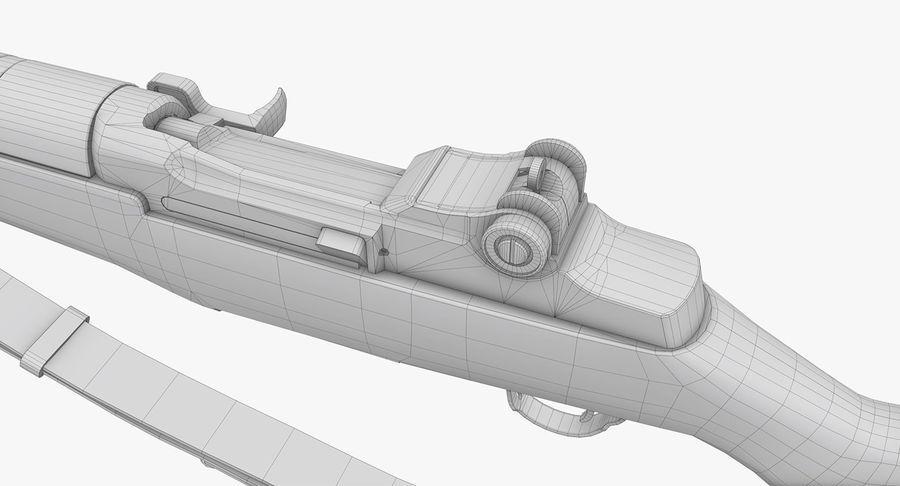M1ガーランドローポリ royalty-free 3d model - Preview no. 25