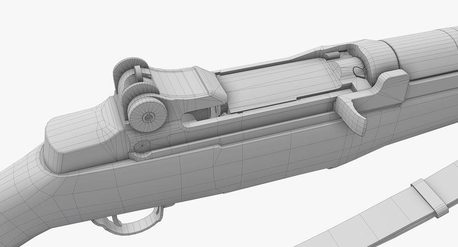 M1ガーランドローポリ royalty-free 3d model - Preview no. 26
