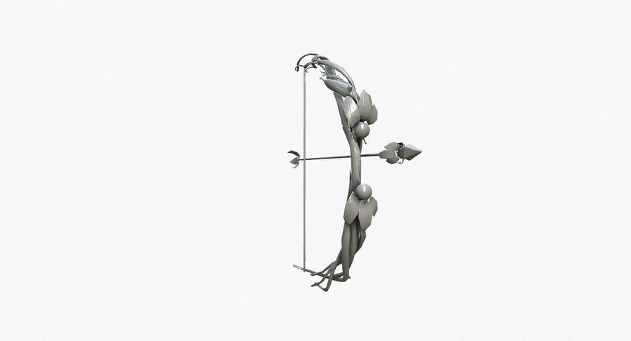 Pakiet broni fantasy royalty-free 3d model - Preview no. 22
