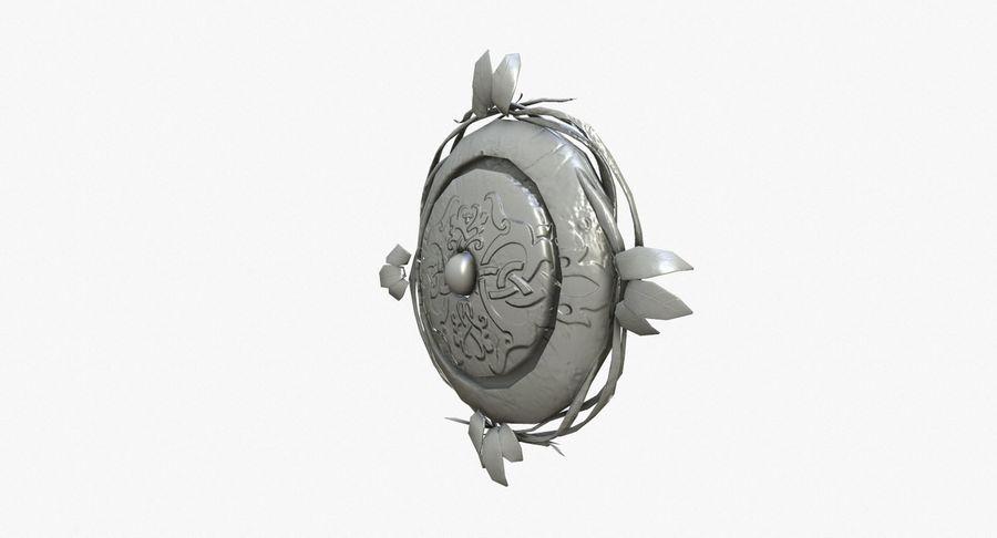 Pakiet broni fantasy royalty-free 3d model - Preview no. 67