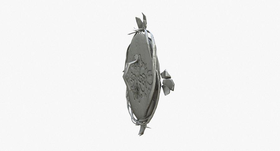 Pakiet broni fantasy royalty-free 3d model - Preview no. 71