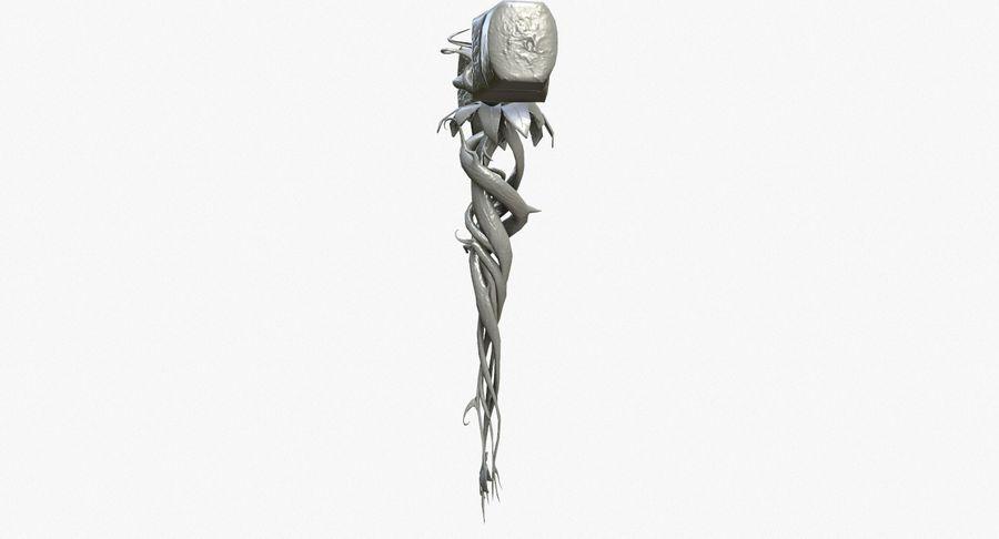 Pakiet broni fantasy royalty-free 3d model - Preview no. 52