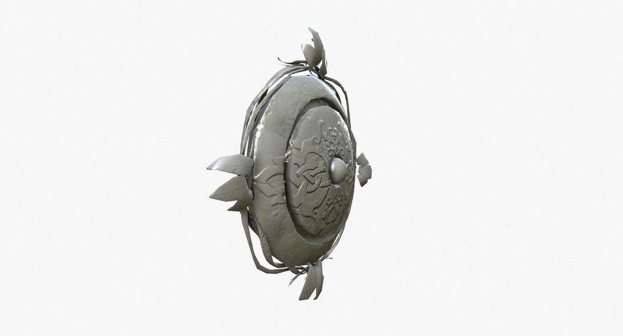 Pakiet broni fantasy royalty-free 3d model - Preview no. 72