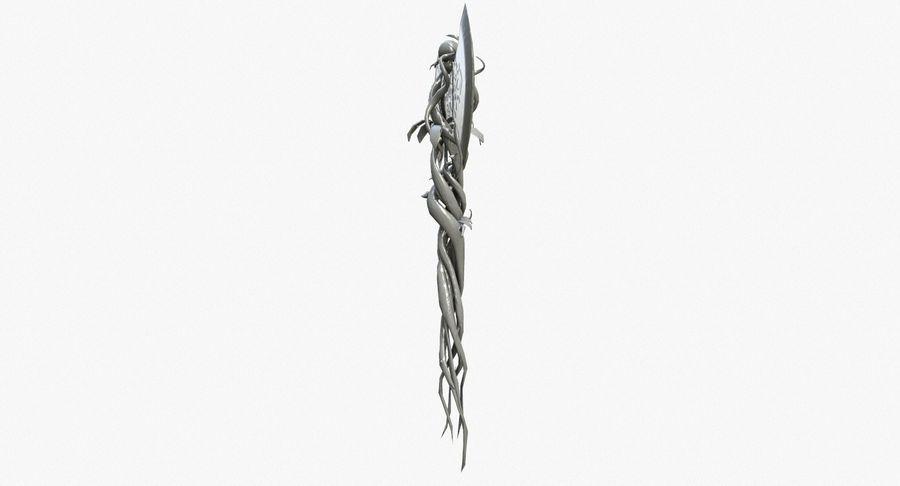Pakiet broni fantasy royalty-free 3d model - Preview no. 4