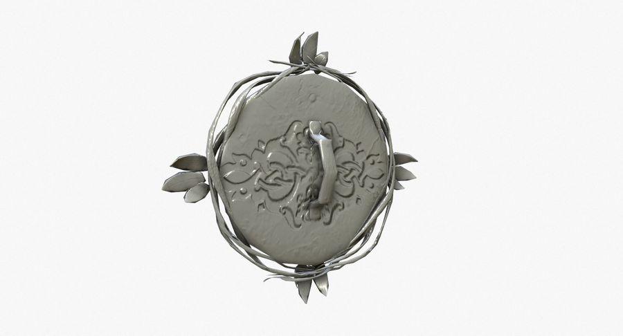 Pakiet broni fantasy royalty-free 3d model - Preview no. 69