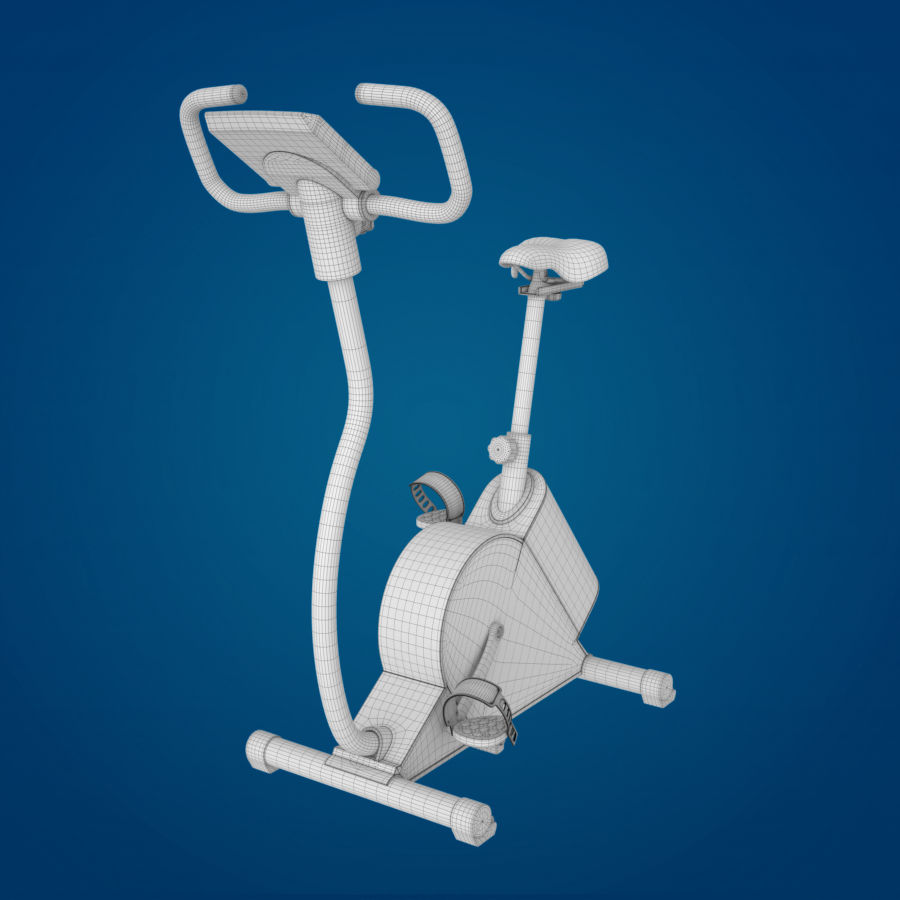 Vélo d'appartement royalty-free 3d model - Preview no. 7