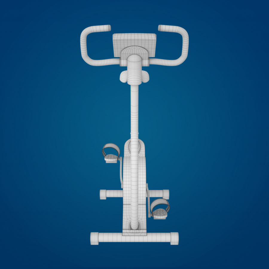 Heimtrainer royalty-free 3d model - Preview no. 6