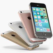 Apple iPhone SE 3d model