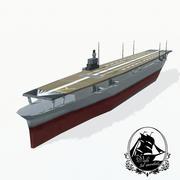 Shokaku bärare 3d model