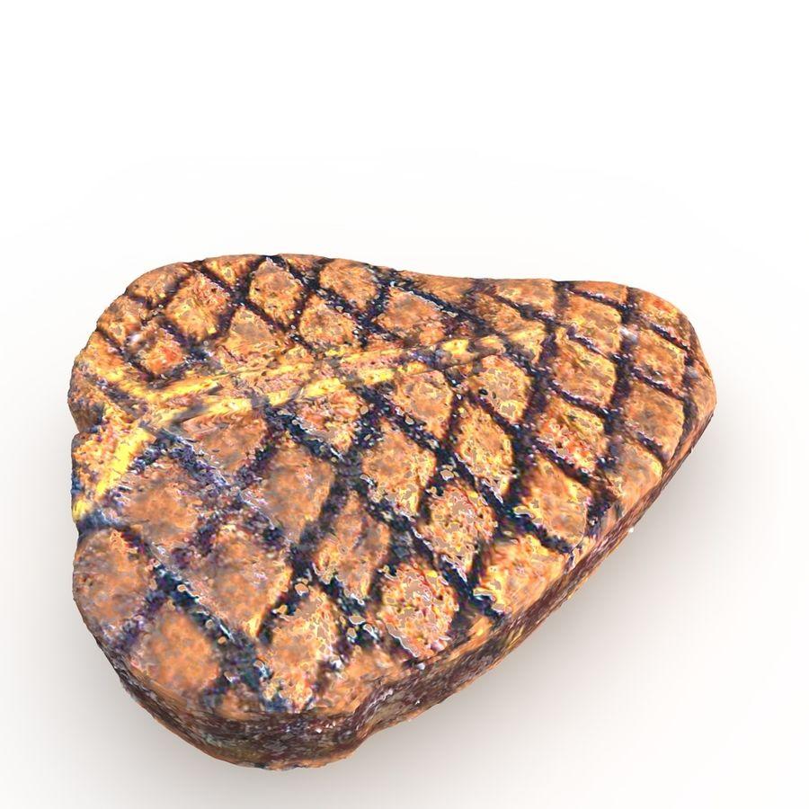 Porterhouse Steak gegrillt royalty-free 3d model - Preview no. 4
