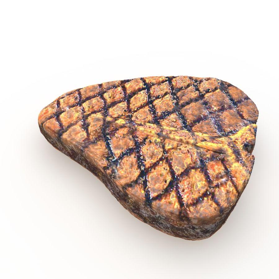 Porterhouse Steak gegrillt royalty-free 3d model - Preview no. 6