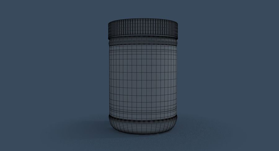 Peanut Butter royalty-free 3d model - Preview no. 25
