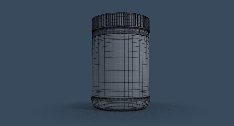 Peanut Butter royalty-free 3d model - Preview no. 24