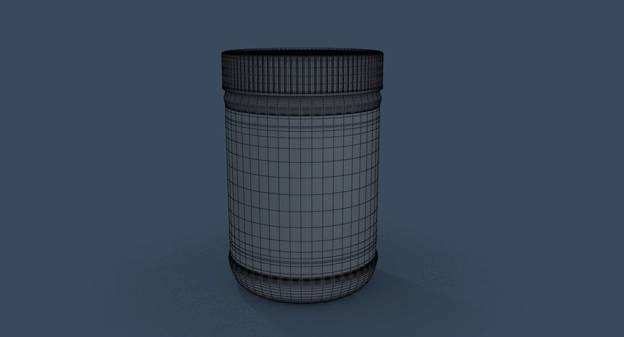 Peanut Butter royalty-free 3d model - Preview no. 26