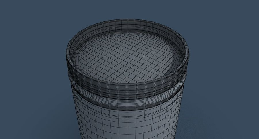 Peanut Butter royalty-free 3d model - Preview no. 30