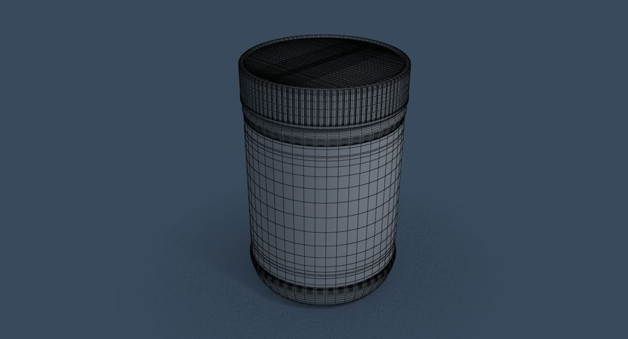 Peanut Butter royalty-free 3d model - Preview no. 27