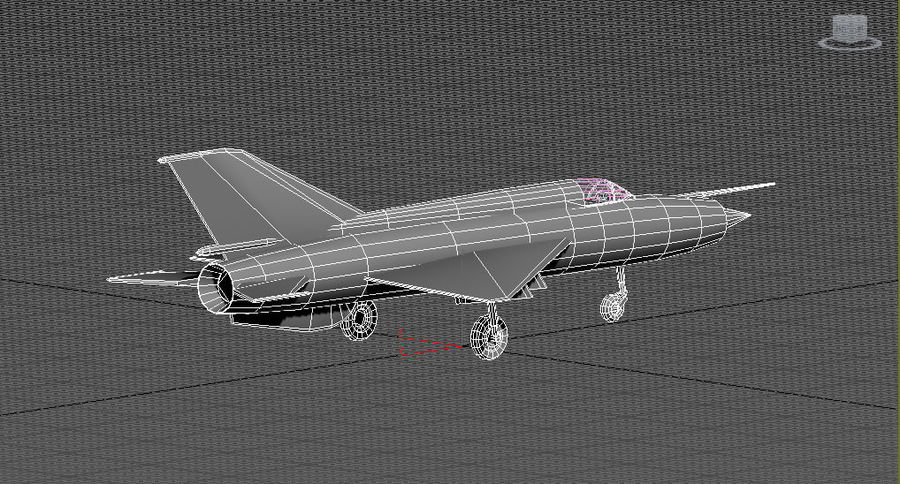 Mig 21 Skin 1 royalty-free 3d model - Preview no. 7