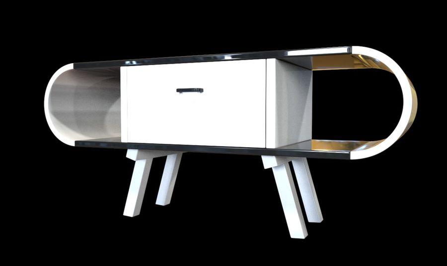 现代咖啡桌 royalty-free 3d model - Preview no. 25