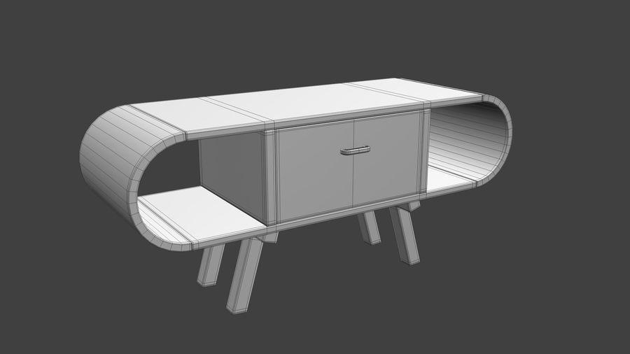 现代咖啡桌 royalty-free 3d model - Preview no. 40