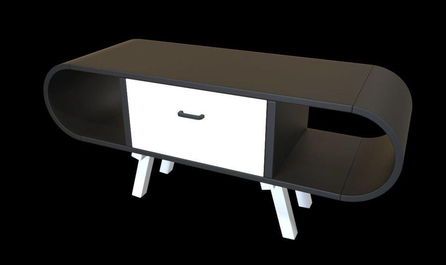 现代咖啡桌 royalty-free 3d model - Preview no. 26