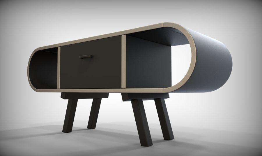 现代咖啡桌 royalty-free 3d model - Preview no. 35