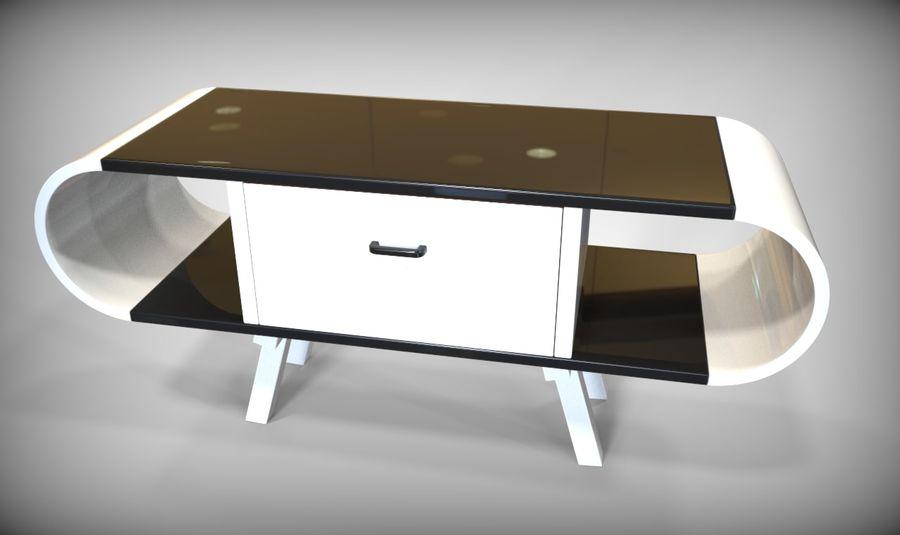 现代咖啡桌 royalty-free 3d model - Preview no. 23