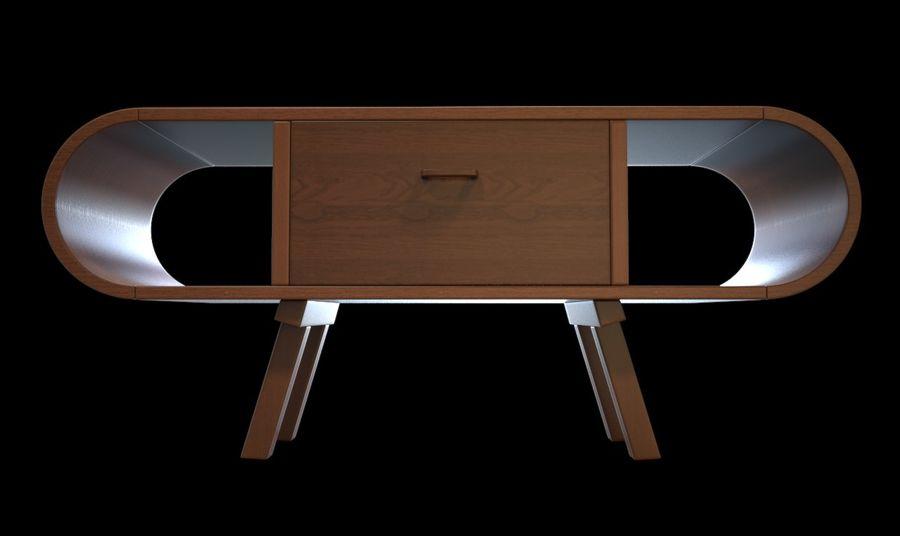 现代咖啡桌 royalty-free 3d model - Preview no. 8