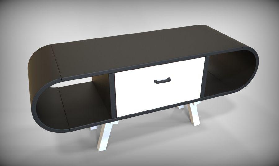 现代咖啡桌 royalty-free 3d model - Preview no. 28