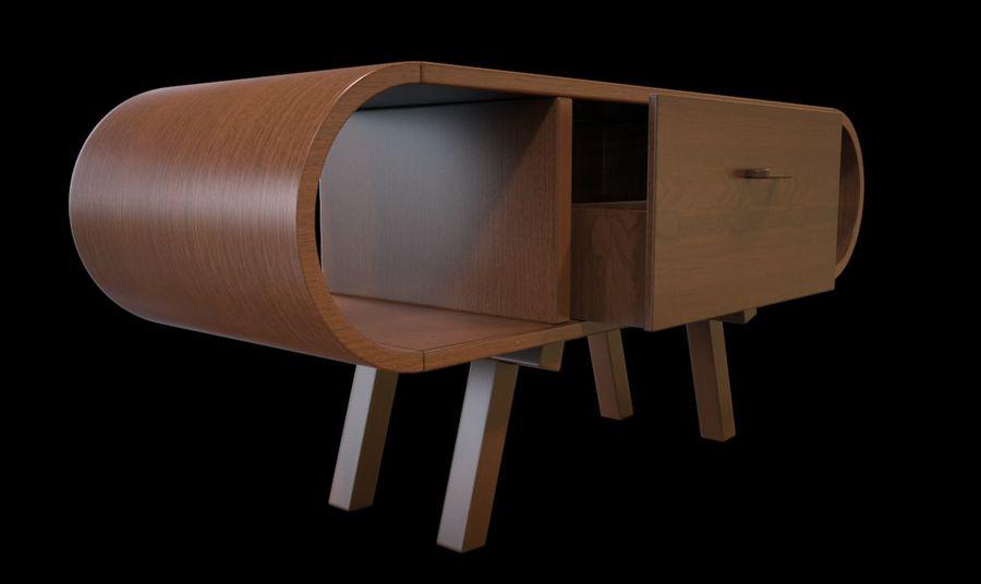 现代咖啡桌 royalty-free 3d model - Preview no. 15