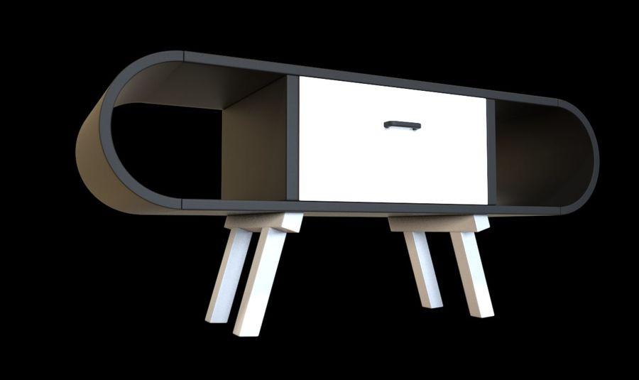 现代咖啡桌 royalty-free 3d model - Preview no. 27