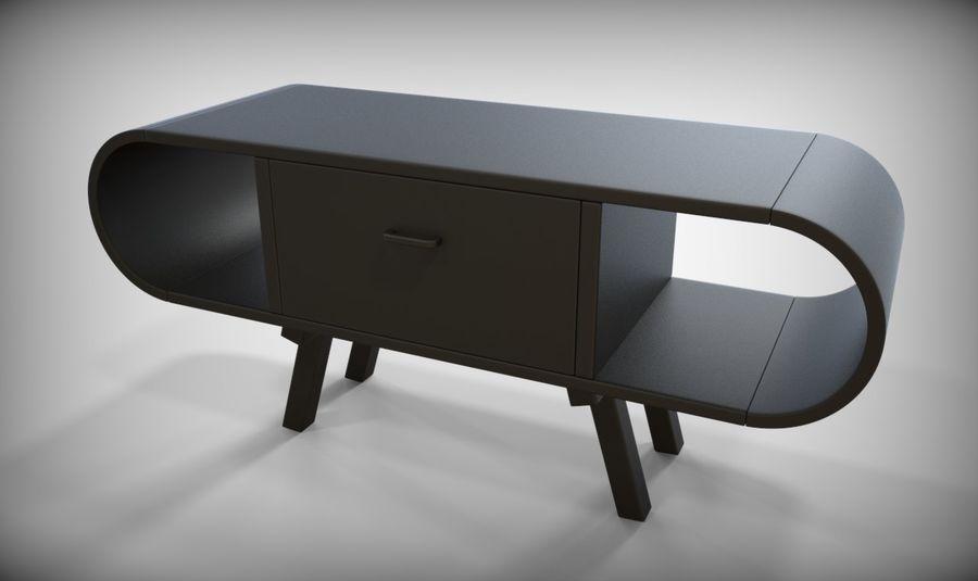 现代咖啡桌 royalty-free 3d model - Preview no. 32