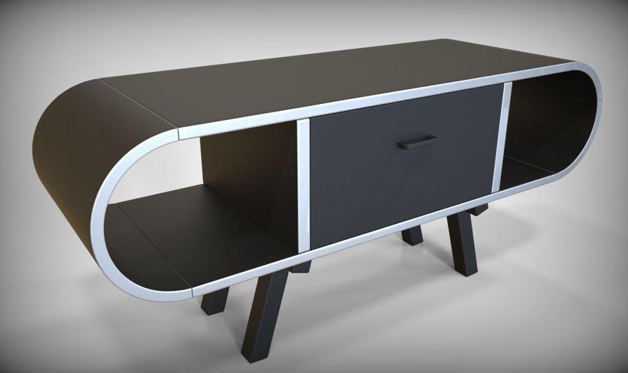 现代咖啡桌 royalty-free 3d model - Preview no. 34