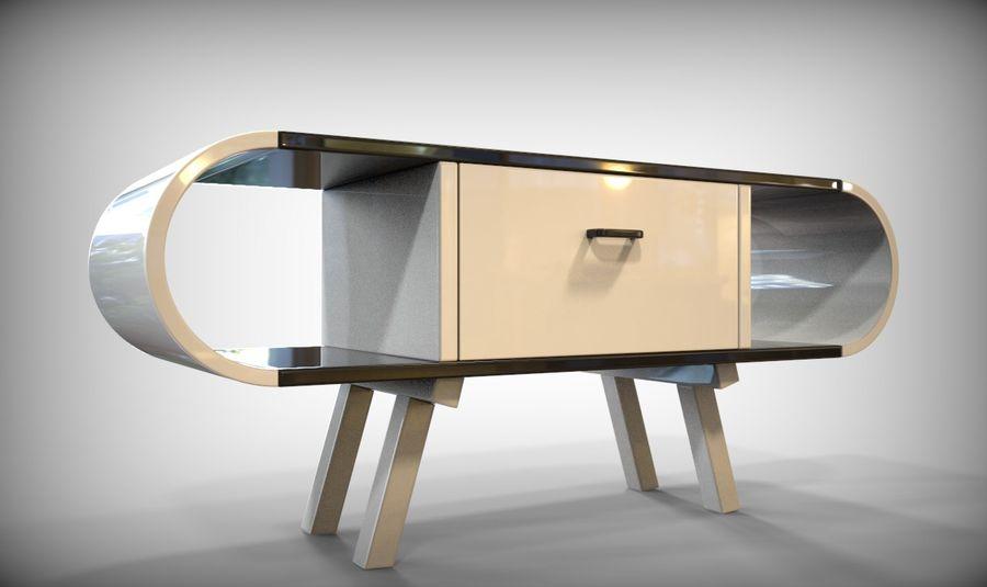现代咖啡桌 royalty-free 3d model - Preview no. 22