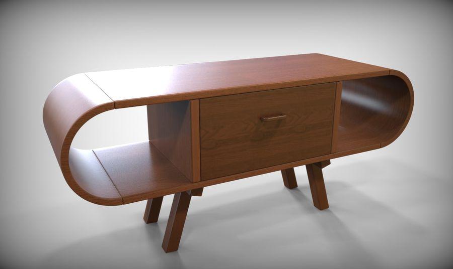 现代咖啡桌 royalty-free 3d model - Preview no. 5