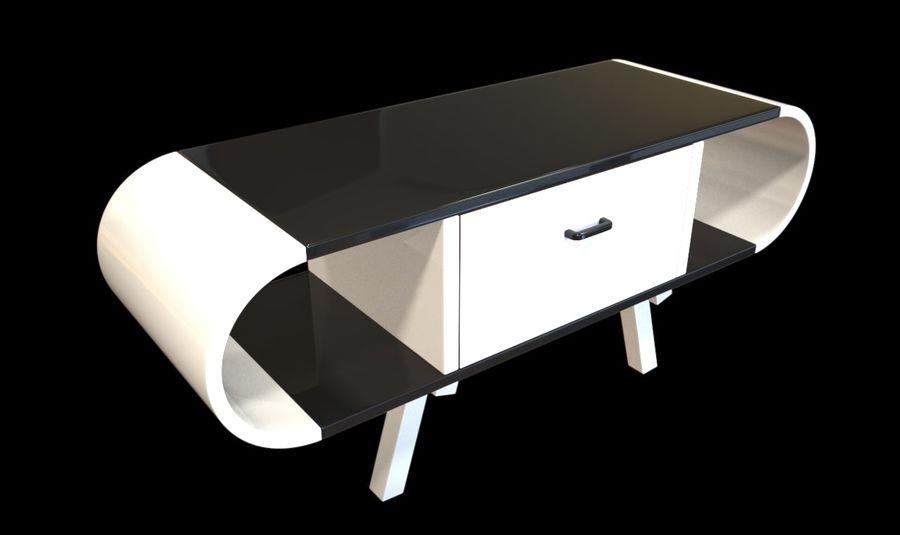 现代咖啡桌 royalty-free 3d model - Preview no. 24