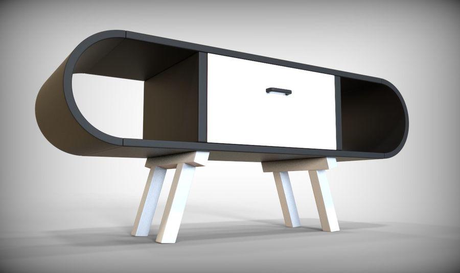 现代咖啡桌 royalty-free 3d model - Preview no. 29