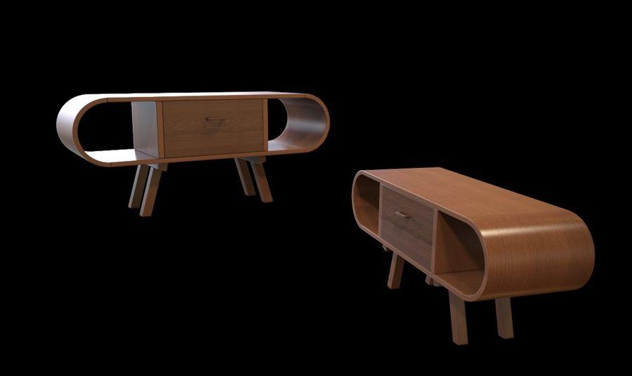 现代咖啡桌 royalty-free 3d model - Preview no. 36