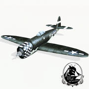 P-47 Coup de foudre 3d model