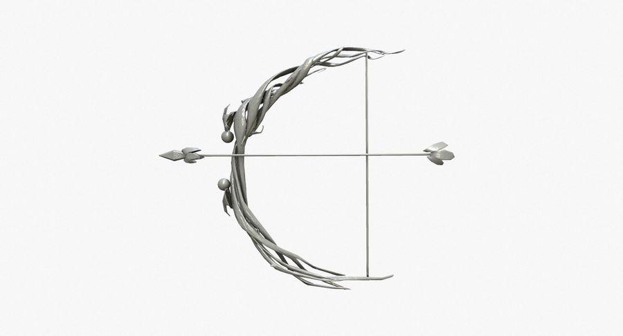Фэнтезийное оружие - Лук royalty-free 3d model - Preview no. 2