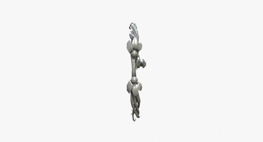 Фэнтезийное оружие - Лук royalty-free 3d model - Preview no. 7