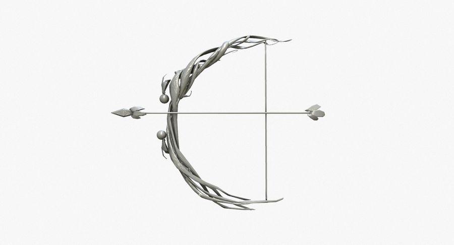 Фэнтезийное оружие - Лук royalty-free 3d model - Preview no. 9