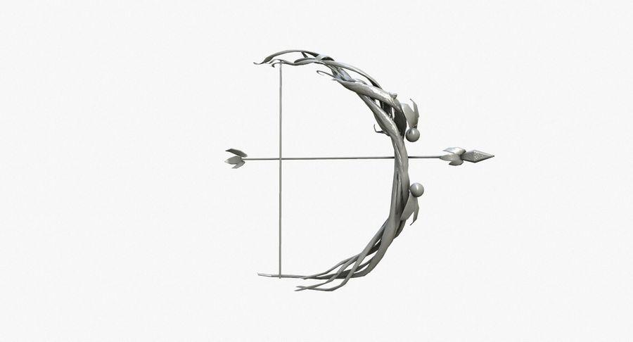 Фэнтезийное оружие - Лук royalty-free 3d model - Preview no. 6
